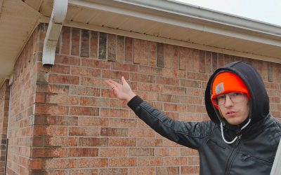 How To Refasten A Downspout Into Brick Siding | DIY